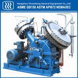 El diafragma pistón compresor de aire para uso industrial.