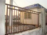 Industriels ou résidentiels de clôtures à dessus plat en acier galvanisé