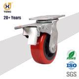 Hochleistungshandlaufkatze-Fußrollen-Räder