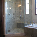 Vetro Tempered del ferro basso per il portello di vetro/acquazzone della stanza da bagno