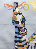 Картина холстины зебры изготовленный на заказ Handmade искусствоа картины маслом животная для живущий комнаты
