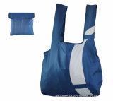 Реклама дешевые синий 210d полиэстер поездки складные сувениры в чехол