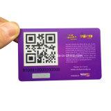 Карточка Кодего Qr нормального размера пластичная/карточка пластмассы Barcode