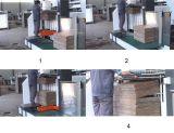 Hohe Leistungsfähigkeits-entfernende stempelschneidene und faltende Maschine