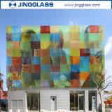 세라믹 Frit 강화 유리를 인쇄하는 건축 설계 싼 가격 디지털