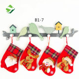 Il piccolo natale colpisce con forza il sacchetto Pendant di Decortion della caramella del regalo di natale dell'albero di Natale