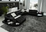 بيتيّ أثاث لازم تصميم أحمر جديدة يعيش غرفة جلد أريكة ([هك1100])