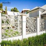 庭は裏庭のための塀のアルミニウム花の塀中空にする