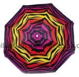 200cmのビーチパラソルの虹の傘