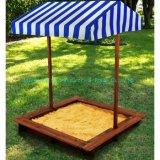 Puits de sable en bois