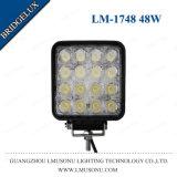 Arbeits-Licht Bridgelux der Qualitäts-12V 4.3 nicht für den Straßenverkehr LED des Zoll-48W