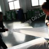 Film plastique blanc opaque, film de Packng d'agriculture de 750mm*25mic*1800mm, film d'ensilage d'enveloppe de balle