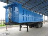 40 toneladas que vacian semi el acoplado con Hyva hidráulico