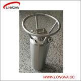 De Oplosbare Tank van het Water van het roestvrij staal met de Buis van de ONDERDOMPELING