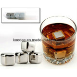 ステンレス鋼のウィスキーの角氷(KD-105)
