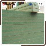 hoge 18mm - Waterdichte MDF van de dichtheids Groene Kleur voor Meubilair