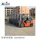 Forklift lateral de madeira da tonelada Gasoline/LPG da produção 3 da pálete das páletes, Forklift duplo do combustível