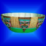 Cadeau d'artisanat / Thanksgiving partie fournitures / Vaisselle - bol de bonbons de Luau (WL4803)