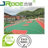 Anti surface de sport d'enduit de terrain de basket d'unité centrale de silicium d'abrasion