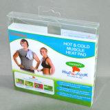 Soft caixas dobráveis de plástico dos vincos