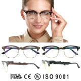 Nuevos marcos del aluminio de Eyewear China de la manera de los marcos redondos