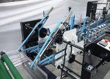 기계 (GK-1600PC)를 접히고 접착제로 붙이는 4개의 구석 물결 모양 상자