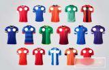 人の袖なしのフットボールのスポーツシャツ(S029)