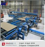 Venta directa de fábrica de yeso ligero la línea de producción de la Junta para la construcción