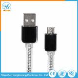 dati universali di 1m che caricano il micro cavo del USB per il telefono
