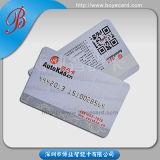Biglietto da visita impresso del PVC