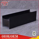 A anodização personalizados Sistemas de extrusão de alumínio preto Casement Perfil de Porta/Janela (A17)