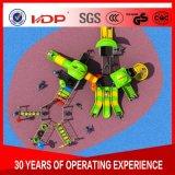Детей детского поворотного механизма и сдвиньте открытый детская площадка, Вставьте лестницу пластиковые слайд