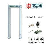Electronic FactoryのためのDouble Infrared Designの18のゾーンLCD表示のアーチ道Metal Detector