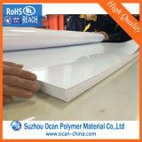 feuille en plastique noire et blanche dure de PVC de 0.5mm pour l'impression