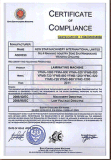 L'usine avec certificat CE Automatique Machine de contrecollage