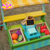 Het nieuwe Stuk speelgoed W10A060 van de Supermarkt van de Jonge geitjes van het Spel van het Fruit van het Ontwerp Grappige Vastgestelde Houten
