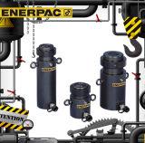 Enerpacのオリジナルはロックナットシリンダーを機械的にしっかり止める