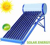 Calentador de agua caliente solar evacuado del sistema de energía solar del tubo de la presión inferior