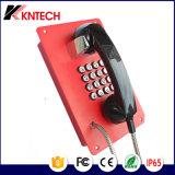 Porta de Entrada de telefone de construção à prova de banco de sistema de intercomunicação de Emergência Knzd-07