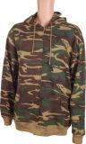2017Мужчины молнией Througt куртка с Camoflage печать