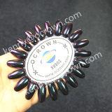 カメレオンの真珠の顔料、釘の芸術DIYのマニキュアミラーの粉Ocrown88802