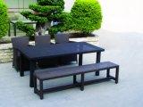 Mobilia di vimini del giardino del rattan che pranza insieme per esterno (TG-JW46)