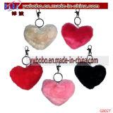 Promoção chave Keychain da pele do coelho do agente de compra do suporte de Yiwu China (G8022)