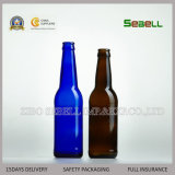 Botella de 750 ml de cerveza de cristal de color marrón con Top Swing (NA-030)