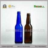 750ml de bruine Fles van het Bier van het Glas van de Kleur met de Bovenkant van de Schommeling (Na-030)