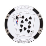 Изготовленный на заказ монетка карманн металла для игры (XD-0706-10)