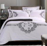 Conjunto de cama de luxo com bordado para hotel / casa (DPF1071005)