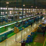 Umsponnener Luft-Schlauch 12*8 des Polyester-TPU transparent