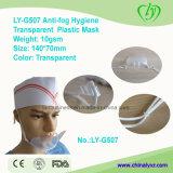 식품 산업을%s Ly G507 Anti-Fog 위생 투명한 플라스틱 가면
