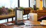 La Banca di potere del menu del ristorante dello schermo dell'affissione a cristalli liquidi di IPS del nuovo prodotto che carica la Banca di potere di Staion 20800mAh